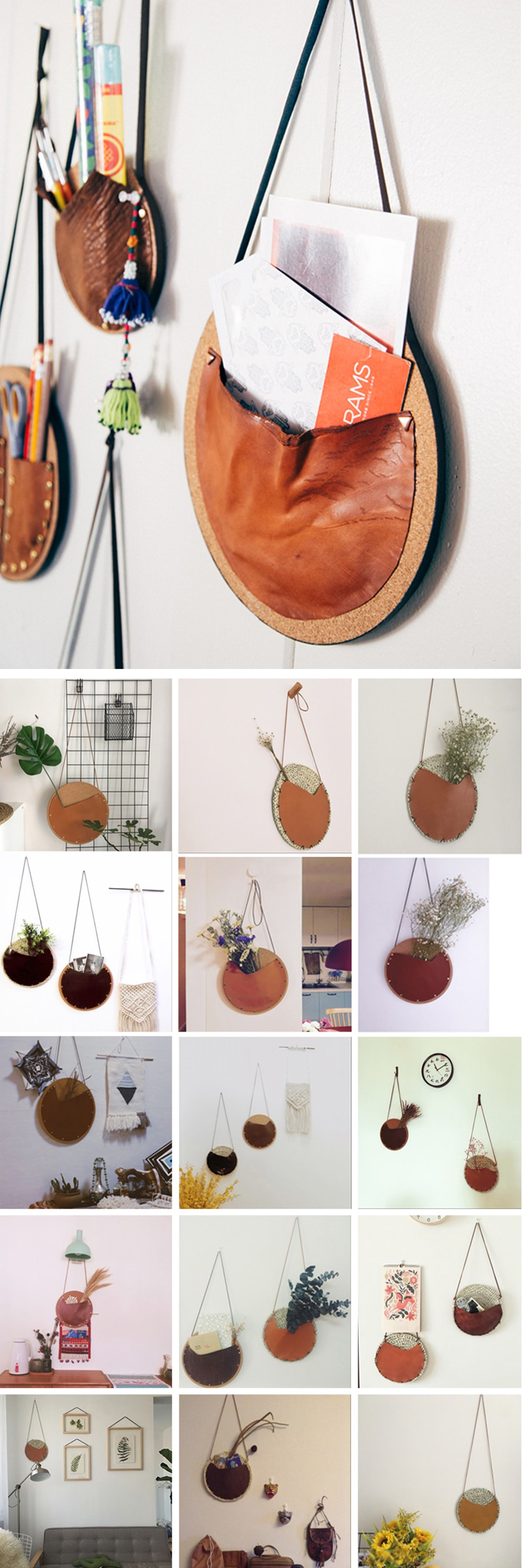 Wall Hanging Bag Decorative Display For Your Room