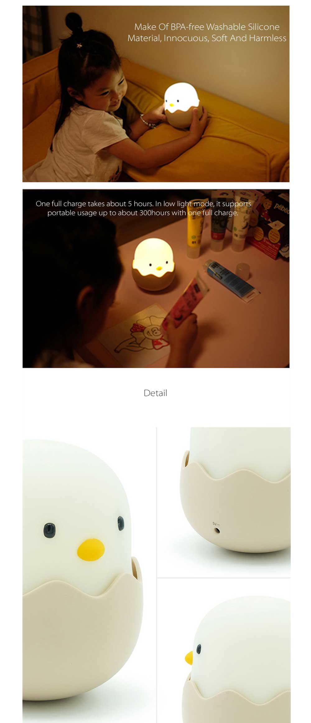 Cute Chicks Night Light Your Kid Will Love This
